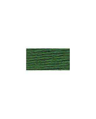 """Нитки для вышивания """"Gamma"""" мулине (0207-0819) 100% хлопок 24 x 8 м цв.0718 зелёный арт. МГ-96801-1-МГ0876405"""