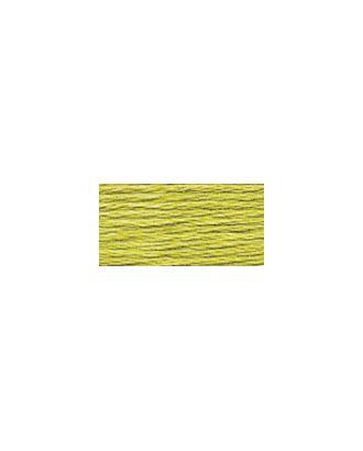 """Нитки для вышивания """"Gamma"""" мулине (0207-0819) 100% хлопок 24 x 8 м цв.0818 оливковый арт. МГ-96779-1-МГ0876437"""