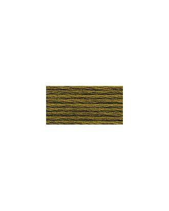 """Нитки для вышивания """"Gamma"""" мулине (3173-6115) 100% хлопок 24 x 8 м цв.3177 коричневый-хаки арт. МГ-96751-1-МГ0876656"""
