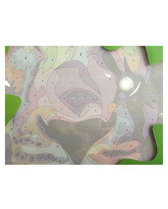 Картины по номерам Букет маков ME1015 30х40 тм Цветной арт. МГ-103473-1-МГ0879198