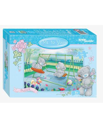 "Мозаика ""puzzle"" Step Puzzle 54 ""Me to You - 2"" (Cartе Blanche) арт. МГ-104341-1-МГ0894764"