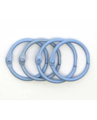 Кольца для альбомов цв.голубой Ø50 мм уп.4 шт арт. МГ-104313-1-МГ0895126
