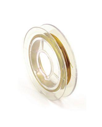 Проволока Ø0,3мм HET-10 цв.золото рул.50м арт. МГ-102412-1-МГ0895552