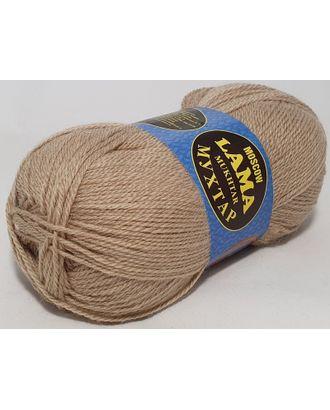 "Пряжа для вязания Lama ""Мухтар"" (45% шерсть п/т, 15% собачья шерсть, 40% акрил) 5х100г/300м цв.007 лен арт. МГ-96623-1-МГ0902176"