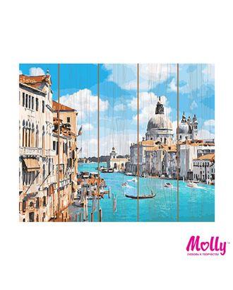 Картины по номерам на дереве Molly Санта-Мария-Делла-Салюте (25 цветов) 40х50 см арт. МГ-96628-1-МГ0910167