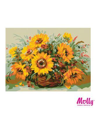 Картины по номерам Molly Солнечный букет (11 цветов) 15х20 см арт. МГ-96666-1-МГ0910175