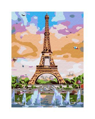 Картины по номерам Molly Эйфелева башня (16 цветов) 15х20 см арт. МГ-96685-1-МГ0910198