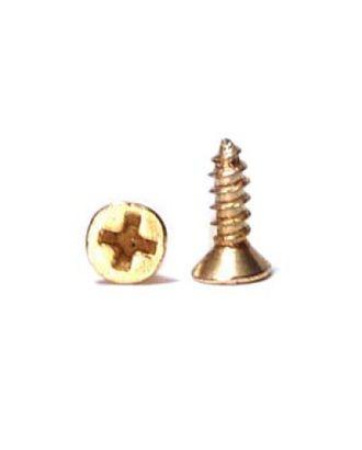 ШКМ4/ШКМ4.0.3.200 Шуруп мини для крепления декоративных элементов Золото 6 мм уп. 200 г (±1200шт) арт. МГ-106021-1-МГ0922983