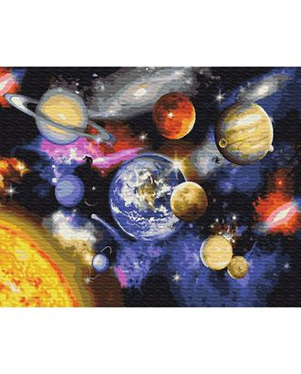 Картины по номерам Парад планет GX22268 40х50 тм Цветной арт. МГ-102350-1-МГ0941410