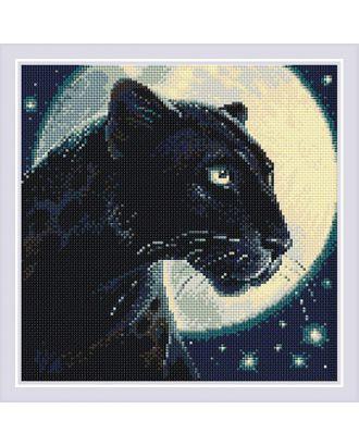 """Набор """"РИОЛИС"""" мозаичная картина Пантера 30х30 см арт. МГ-101857-1-МГ0944071"""