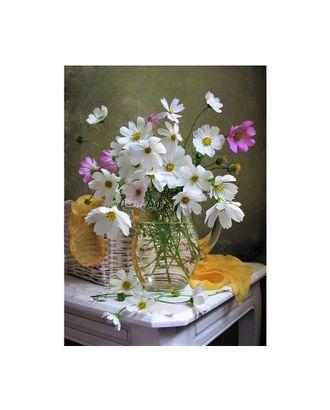 Картина по номерам с цветной схемой на холсте Molly Космея (20 цветов) 30х40 см арт. МГ-101213-1-МГ0947806