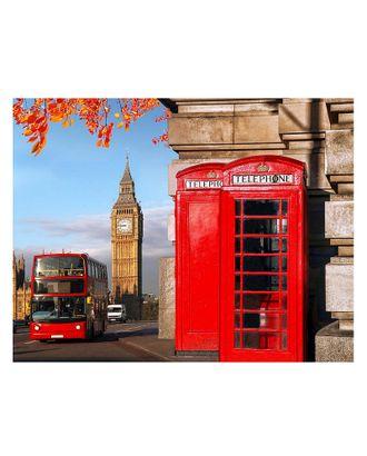 Картина по номерам с цветной схемой на холсте Molly Улица Лондона (18 цветов) 30х40 см арт. МГ-101219-1-МГ0947808