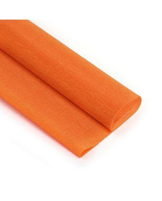 Бумага гофрированная Италия 50см х 2,5м 180г/м² цв.020/Е2 оранжевый арт. МГ-104233-1-МГ0950059