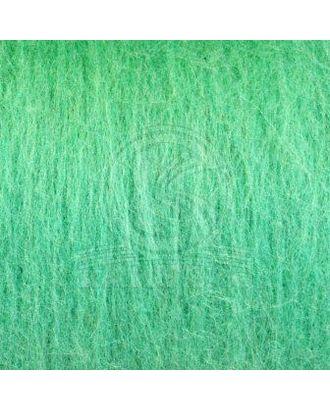 """Шерсть для валяния КАМТ """"Кардочес"""" (100% шерсть п/т) 1х100г цв.025 мята арт. МГ-105958-1-МГ0951509"""