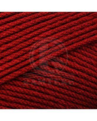 "Пряжа для вязания КАМТ ""Акварель"" (50% леакрил, 50% акрил) 5х100г/110м цв.091 вишня арт. МГ-105979-1-МГ0951866"