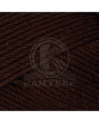 """Пряжа для вязания КАМТ """"Акварель"""" (50% леакрил, 50% акрил) 5х100г/110м цв.063 шоколад арт. МГ-105975-1-МГ0951868"""