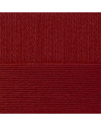 "Пряжа для вязания ПЕХ ""Школьная"" (100% акрил) 5х50г/150м цв.007 бордо арт. МГ-106008-1-МГ0953061"
