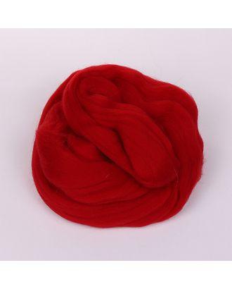 Шерсть для валяния ПЕХОРКА тонкая шерсть (100%меринос.шерсть) 50г цв.272 вишня арт. МГ-104580-1-МГ0954762
