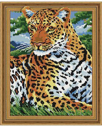 """Набор """"Колор Кит"""" картина алмазная Леопард на отдыхе 40х50 арт. МГ-104431-1-МГ0956487"""
