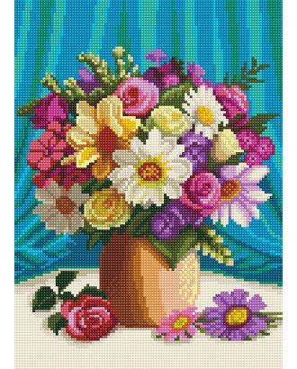 Алмазная мозаика Ah5433 Мелодия цветов 30х40 арт. МГ-106054-1-МГ0957836