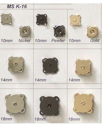 Кнопки магнитные MS K-16 арт. МБ-3109-1-МБ00000142684