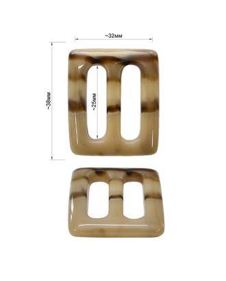 Пряжка пластик ш.2,5 см арт. ССФ-301-1-ССФ0017582685