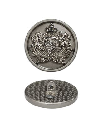 Пуговица металл, 18 мм арт. ССФ-2278-4-ССФ0017896876