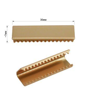Украшение-зажим металлическое арт. ССФ-130-2-ССФ0017582175