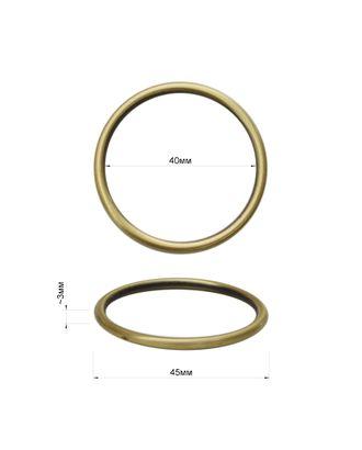 Кольцо ш.4 см арт. ССФ-868-1-ССФ0017584279