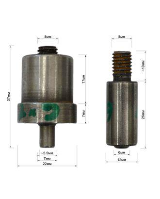 Матрица установочная на люверсы, 6*12*4 мм арт. ССФ-2152-1-ССФ0017816911