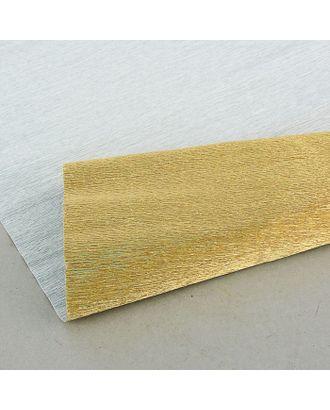 Бумага гофрированная 807 античное золото металл, 50 см х 2,5 м арт. СМЛ-33221-1-СМЛ1009424