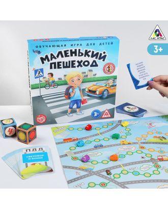 Настольная обучающая игра «Маленький пешеход» арт. СМЛ-120213-1-СМЛ0001018066