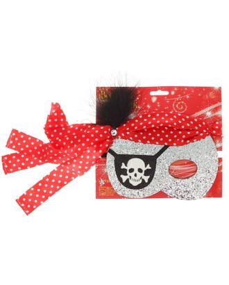 Карнавальная маска «Пират» арт. СМЛ-104362-1-СМЛ0001052536