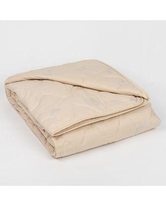 """Одеяло всесезонное Адамас """"Овечья шерсть"""", размер 140х205 ± 5 см, 300гр/м2, чехол тик арт. СМЛ-40106-1-СМЛ0001075371"""