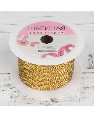 Нить для плетения d = 2 мм, 25 ± 1 м, цвет серебряный №19 арт. СМЛ-23262-3-СМЛ1096339