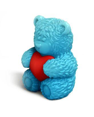 "Форма для творчества ""Медвежонок Тедди сидит с сердечком в обнимку"" набор 2 детали арт. СМЛ-500-1-СМЛ1100390"