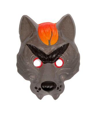 Карнавальная маска «Серый волк», на резинке арт. СМЛ-104052-1-СМЛ0001110160