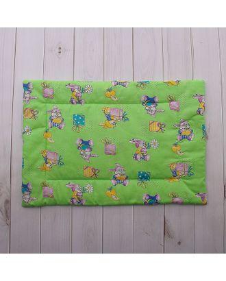 Подушка детская, размер 40х60 см, цвет МИКС арт. СМЛ-33899-1-СМЛ1126031
