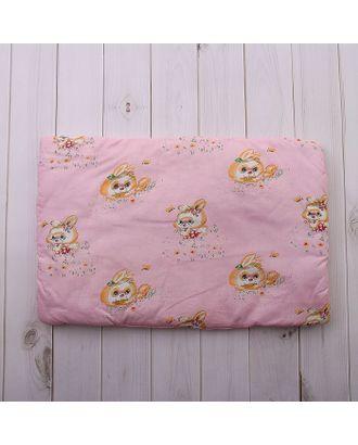 Подушка для девочки, размер 40х60 см, цвет МИКС 18006-С арт. СМЛ-33900-1-СМЛ1126361