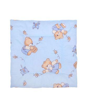 Подушка для мальчика, размер 40х40 см, цвет МИКС арт. СМЛ-33901-1-СМЛ1126446