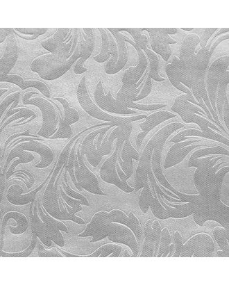 Штора портьерная Водевиль 135х260 см, серебряный, пэ 100% арт. СМЛ-22019-1-СМЛ1134938