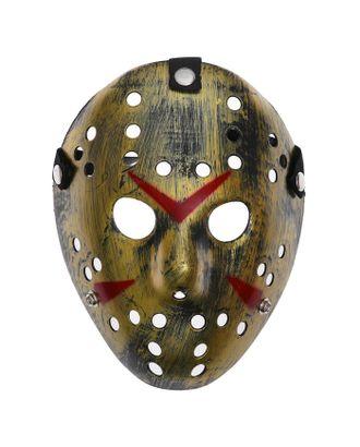 Карнавальная маска пластик «Пятница» арт. СМЛ-104595-1-СМЛ0001146063