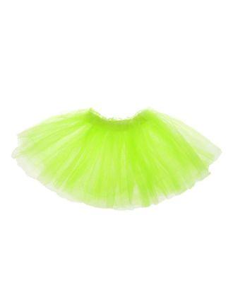 Карнавальная юбка «Объем», 5 слоев, 4-6 лет, цвет белый арт. СМЛ-98206-3-СМЛ0001152961