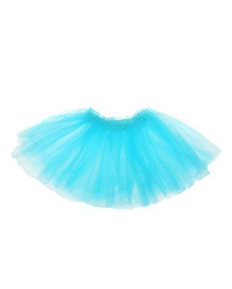 Карнавальная юбка «Объем», 5 слоев, 4-6 лет, цвет белый арт. СМЛ-98206-2-СМЛ0001152962