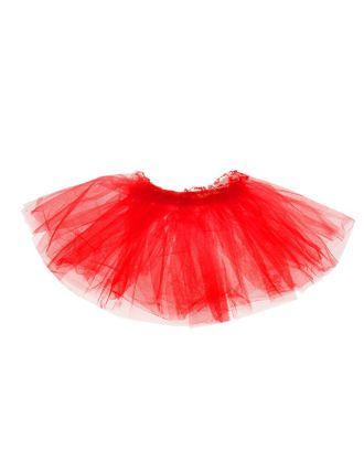 Карнавальная юбка «Объем», 5 слоев, 4-6 лет, цвет белый арт. СМЛ-98206-4-СМЛ0001152964