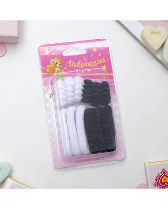 """Резинки для волос """"Махрушка"""" (набор 12 шт.), розовые арт. СМЛ-21085-2-СМЛ0001154690"""