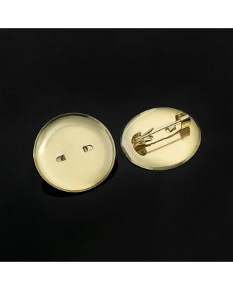 Булавка для броши СМ-367, 30 мм арт. СМЛ-24180-2-СМЛ1155658