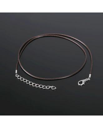 Шнурок 43 см + удлинитель, d=1,5 мм арт. СМЛ-654-1-СМЛ1158247