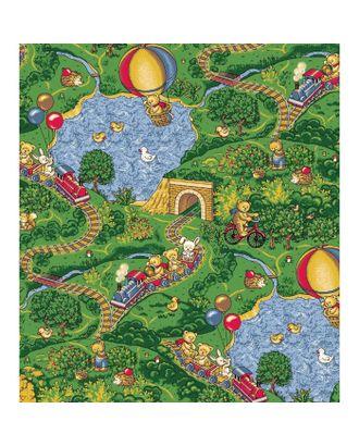 Палас «Малиновка», 200х350 см, зелёный арт. СМЛ-698-1-СМЛ1192820