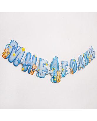Гирлянда на люверсах «Мне 1 годик» арт. СМЛ-120226-1-СМЛ0001201407